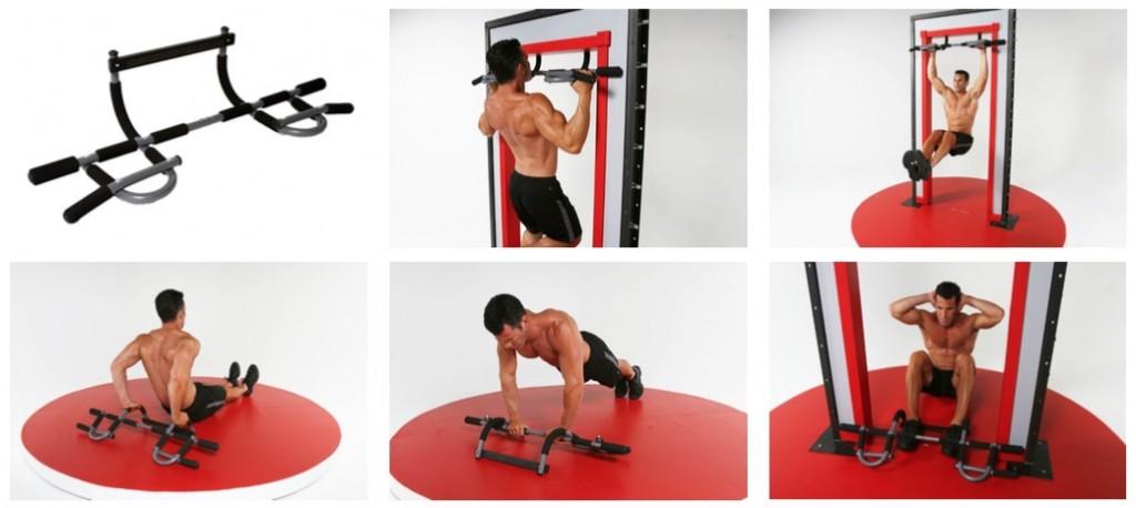Et lille udvalg af øvelser med Iron Gym Extreme