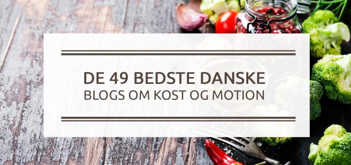 De 49 bedste Danske blogs om kost og motion_2