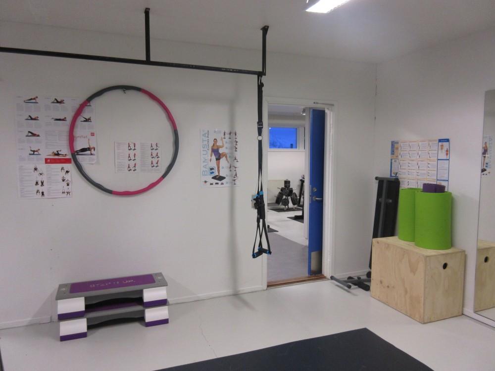 Fitnesscenter på arbejdspladsen