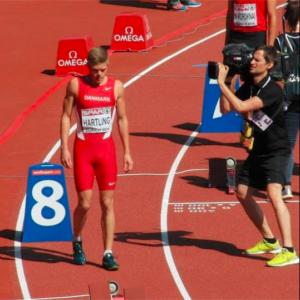 Nicolai Hartling - Professionel løber og indehaver af dansk rekord på 400 meter hæk