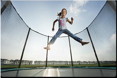 Berg trampolin sikkerhed