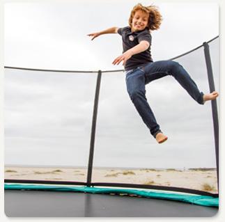 children-test-trampoline