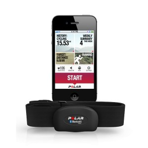 Bluetootht pulsmåler med smartphone