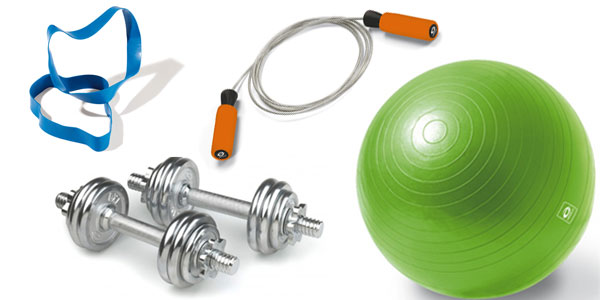 fitnessudstyr til hjemmet