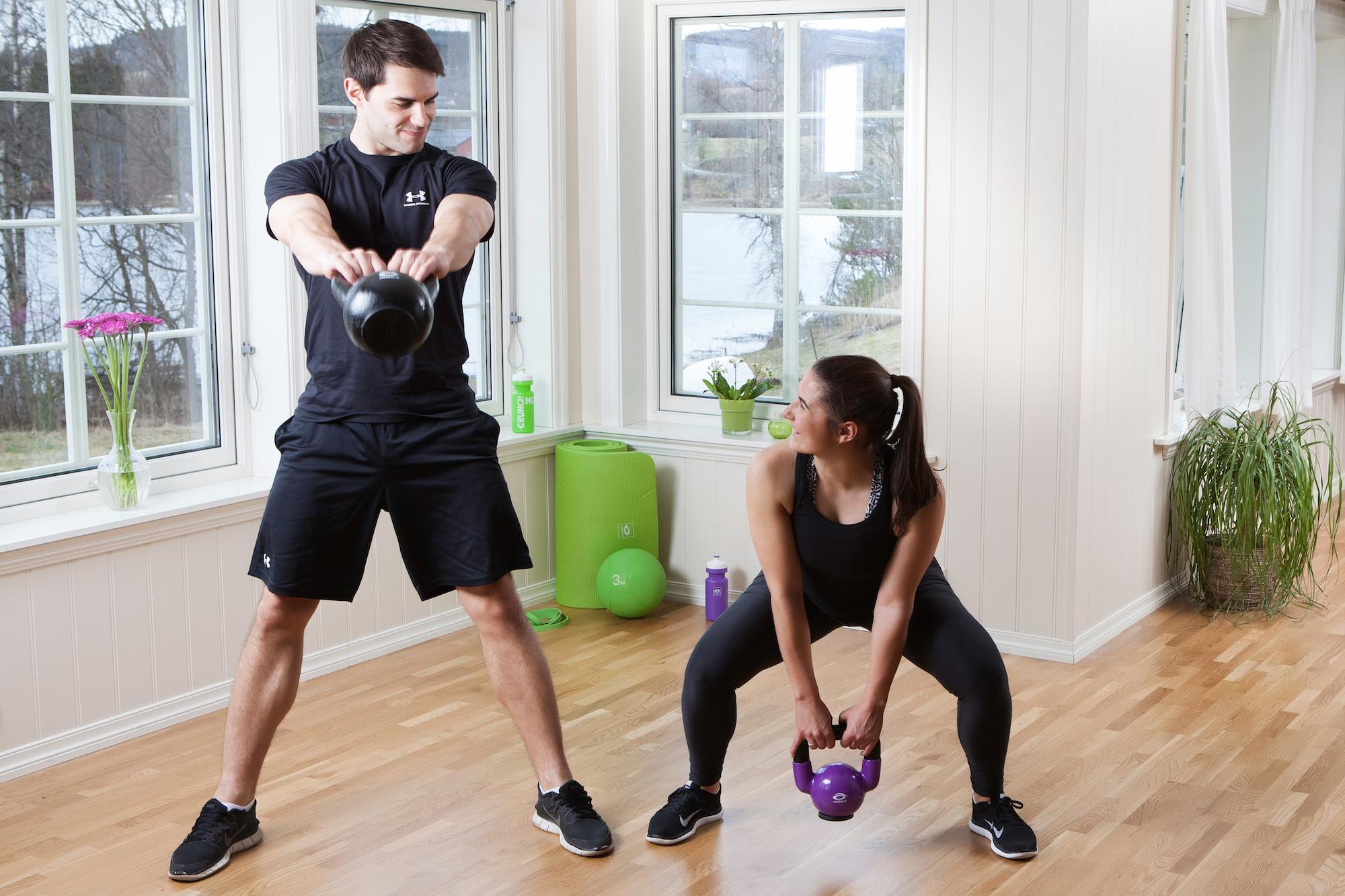 Nytårsforsæt - træning hjemme