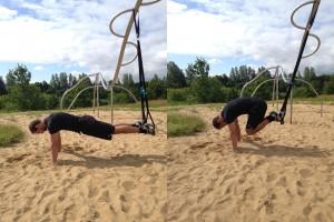 Atomic push up - slyngetræner