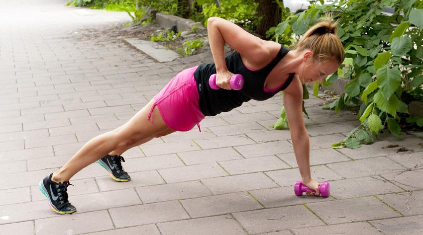 Hjemmetræning - udendørs træning derhjemme
