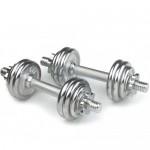 Håndvægte - vægtsæt med skiver