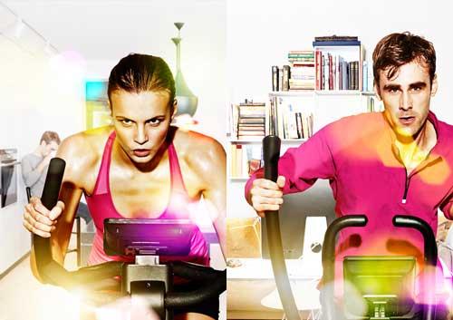 Motionscykel eller crosstrainer