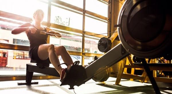 Træn de fleste muskler med romaskinen